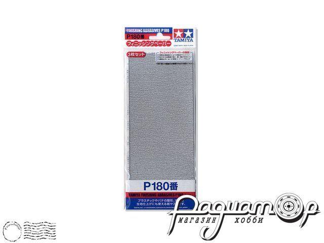 Наждачная бумага P180 (3шт) 87092