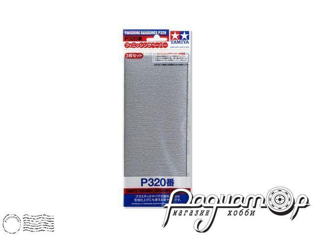 Наждачная бумага P320 (3шт) 87094