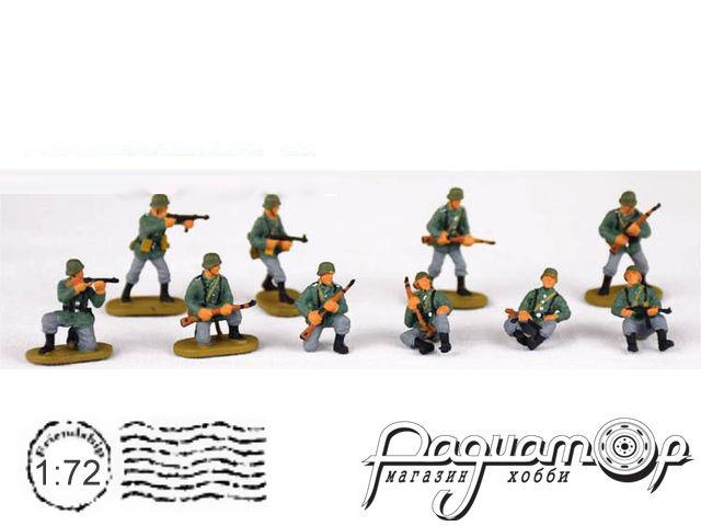 Набор фигурок Немецкие солдаты (10шт) H077