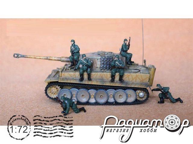 Набор фигурок Немецкая танковая пехота (11шт) H079