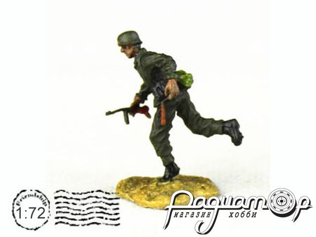 Фигурка Бегущий немецкий солдат 91518715