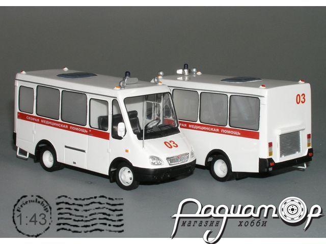 БАЗ-2216 «Дельфин» медпомощь (2004) VZ-22.2