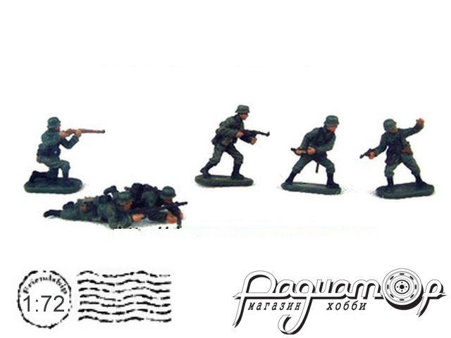 Набор фигурок Немецкая пехота (6шт) P800