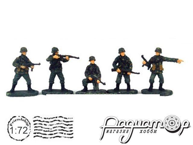 Набор фигурок Немецкие солдаты (5шт) P802
