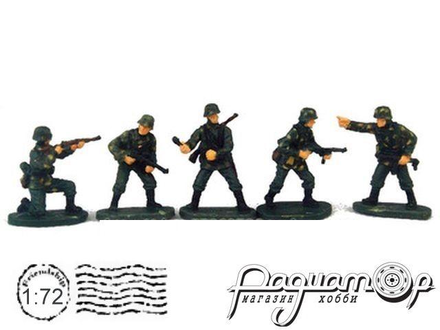 Набор фигурок Немецкие солдаты (5шт) P803