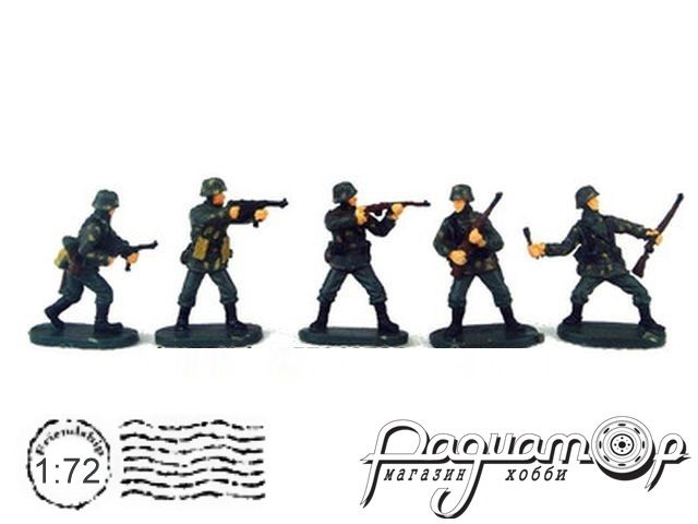 Набор фигурок Немецкие солдаты (5шт) P804