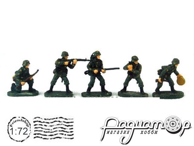 Набор фигурок Немецкие солдаты (5шт) P807