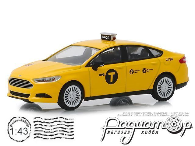 Ford Fusion NYC Taxi (2013) 86170