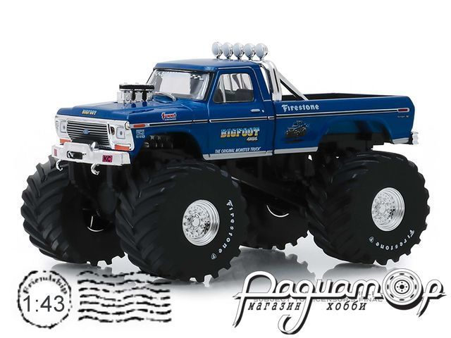 Ford F-250 Monster Truck Bigfoot №1 (1974) 88011