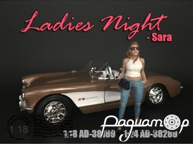 Фигурка Ladies Night Sara AD38189