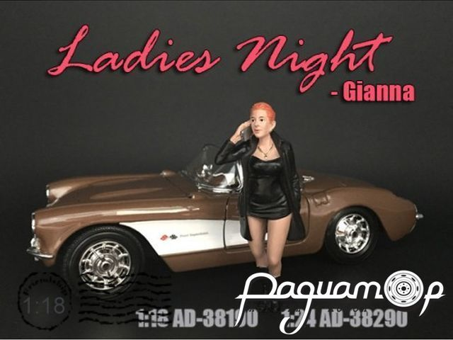 Фигурка Ladies Night Gianna AD38190