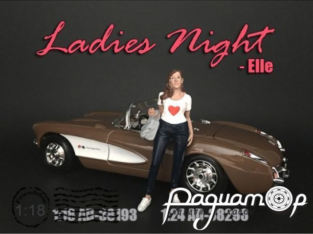 Фигурка Ladies Night Elle AD38193