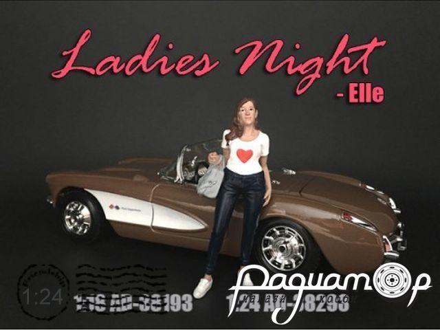 Фигурка Ladies Night Elle AD38293