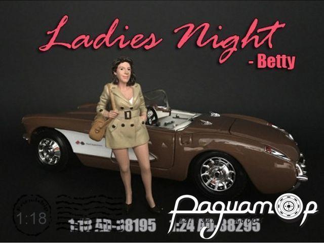 Фигурка Ladies Night Betty AD38195