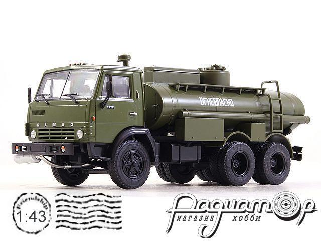 Легендарные Грузовики СССР №6, КамАЗ-5320 АЦ-9 (1976)