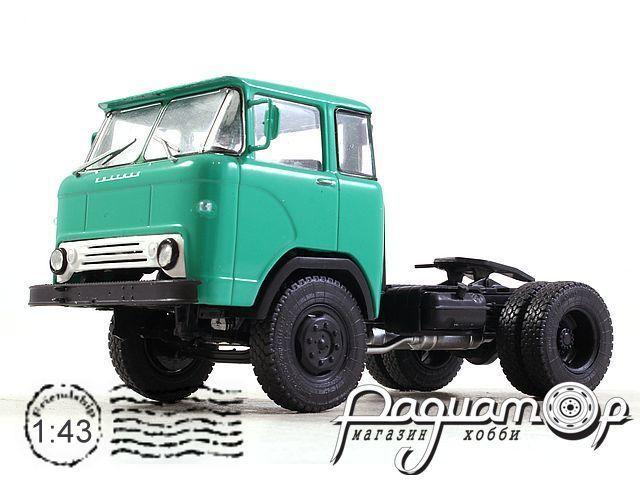 Легендарные Грузовики СССР №7, КАЗ-608 седельный тягач (1961)