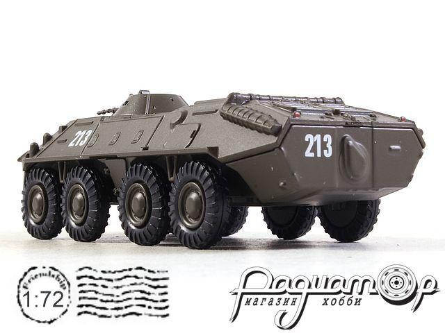 Русские танки №50, БТР-70 хаки (1972)