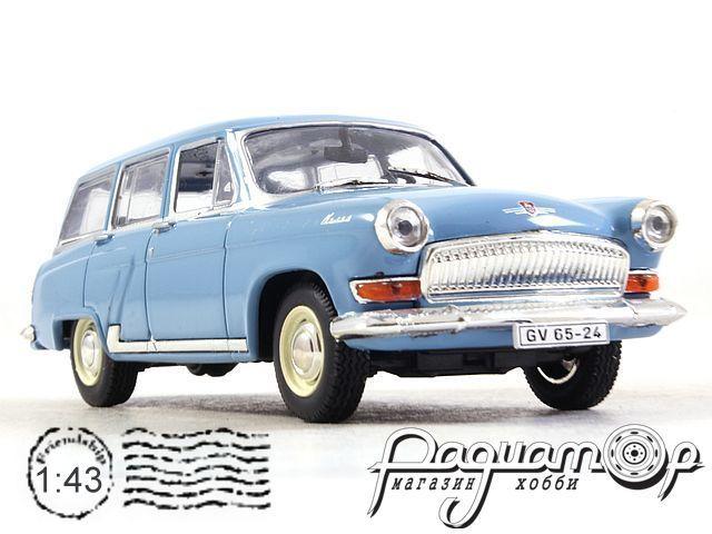 Kultowe Auta PRL-u №73, ГАЗ-22 «Волга» (1962) белый номер
