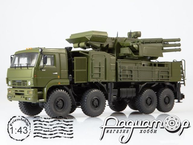 КамАЗ-6560 ЗРПК 96К6 (Панцирь-С1) (2008) SSM1385