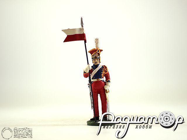 Бригадир 2-го (Голландского) полка шеволежеров-лансьеров (