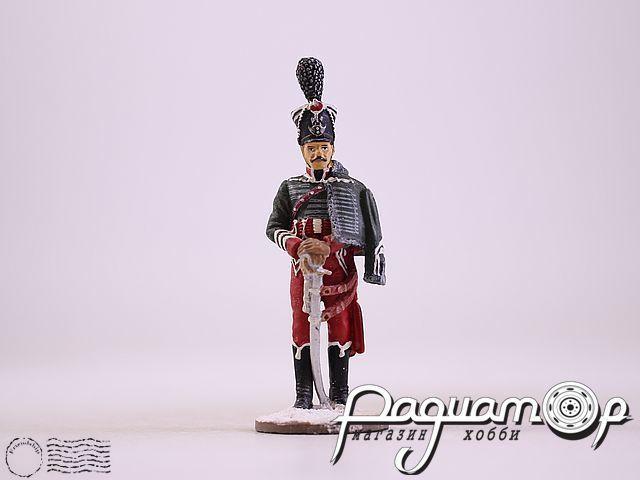 Офицер гусарского полка в парадной форме (1812) (I)