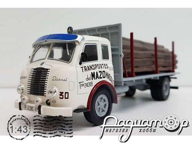 Pegaso II Z-202 Diesel Transportes del Mazo (1956) PER002
