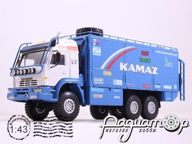 КамАЗ-655050 техничка «Париж-Дакар» (2000) 3-8