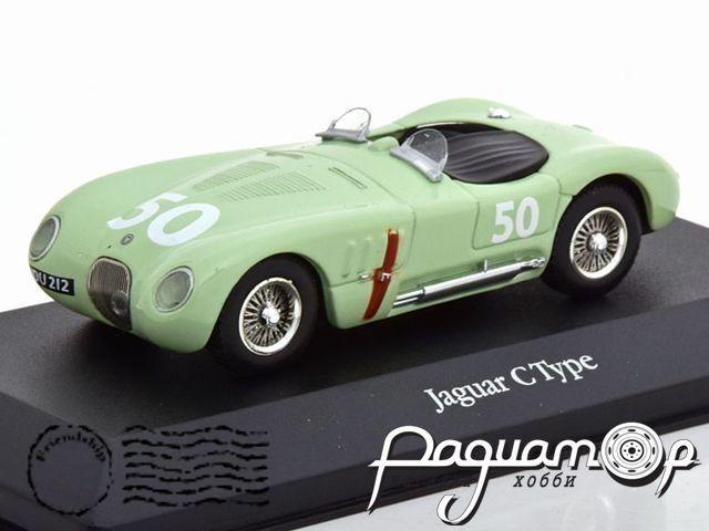 Jaguar C-Type №50, GP Reims (1952) 4641107
