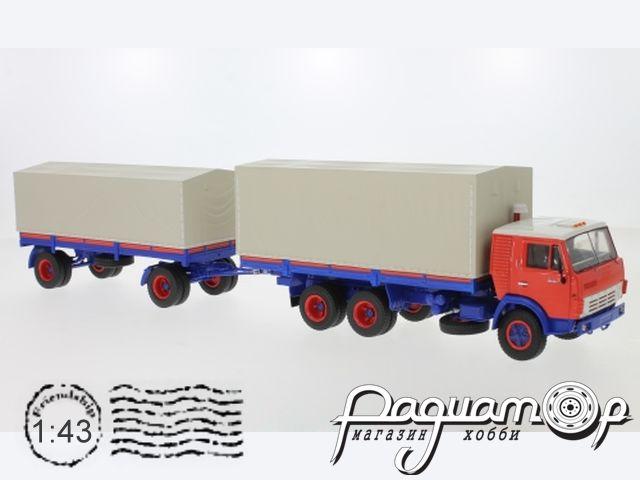 КАМАЗ-5320 с прицепом ГКБ-8350 (1976) PCL47054