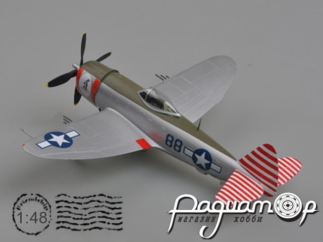 Republic P-47D Thunderbolt, 527FS, 86FG (1942) 39310