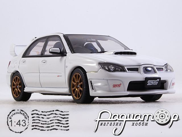 Subaru Impreza WRX STI (2006) 58682 (TI)