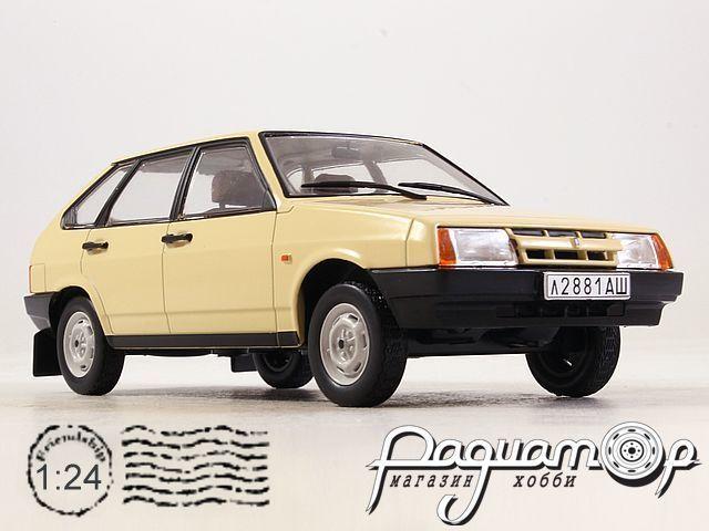 Легендарные советские автомобили №48, ВАЗ-2109 «Самара» (1987)