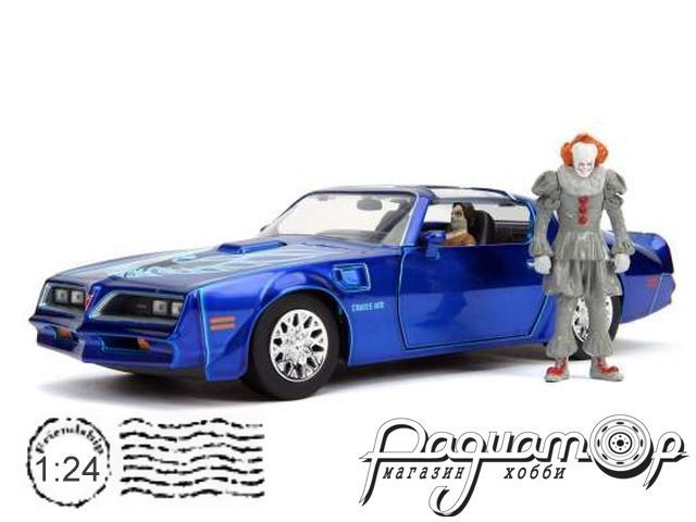 Pontiac Firebird with IT Pennywise & Henry Bowers Figures (1977) 31118