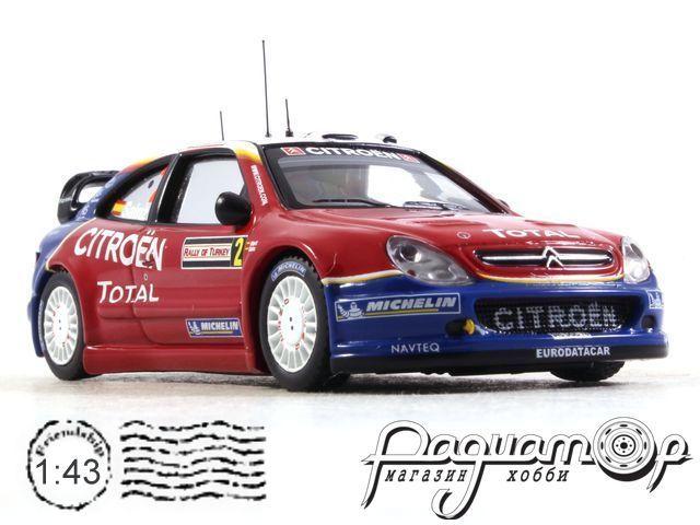 Citroen Xsara WRC №2, Rally of Turkey (2005) RAM197 (I) 0614
