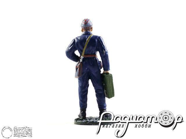 Сержант автобронетанковых войск, в полевой форме (1941) (I)