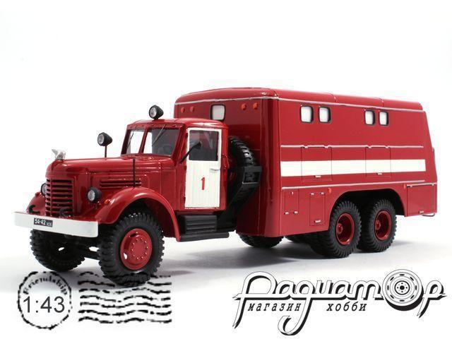 ЯАЗ-210 ПРМ-33 пожарный (1951) 5-1-6A