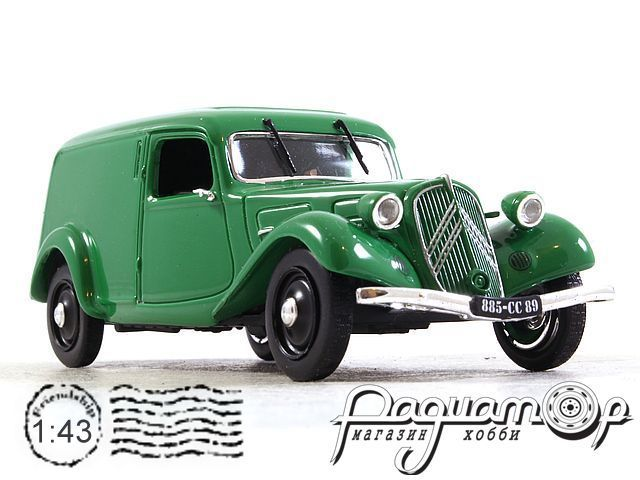 Citroen Traction 11 BL Fourgonnette (1937) 351230 (TI)