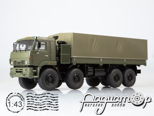 КАМАЗ-6560 с тентом (2000) SSM1382
