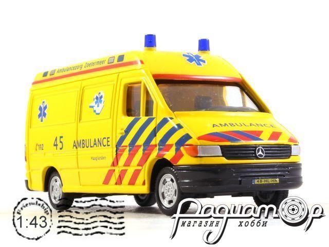 Mercedes-Benz Sprinter Ambulance (1990) Cararama (VZ)