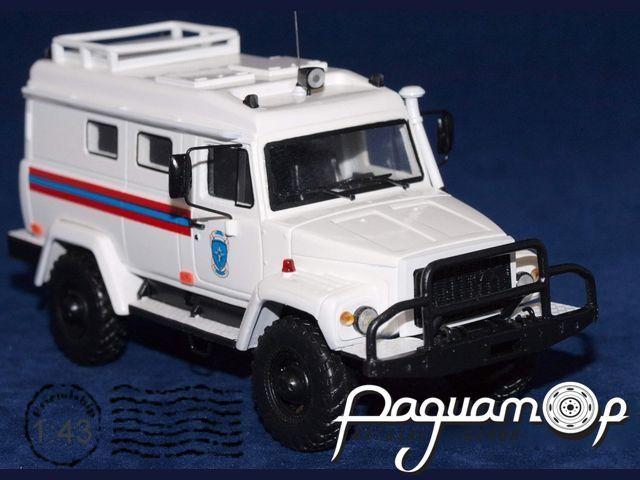 Сборная модель ГАЗ-330811