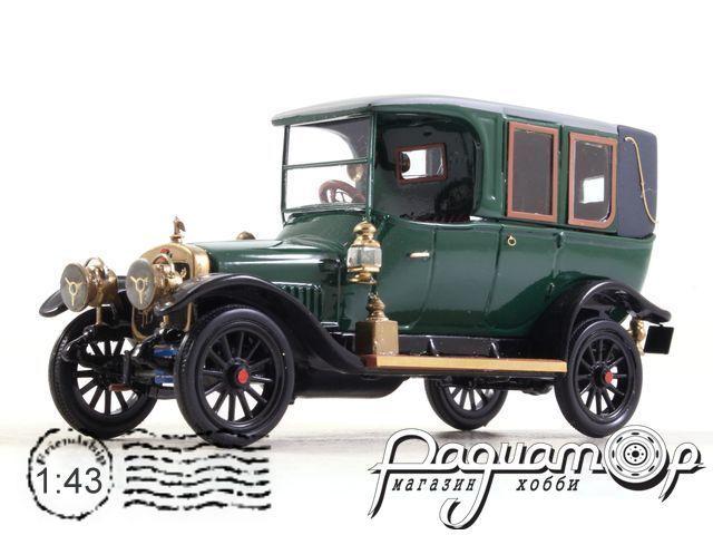 Руссо-Балт Тип D, шасси №394 13-й серии (1915) 191123