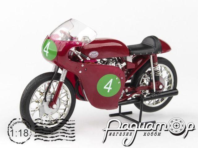 Jawa 250R 2xOHC, Гран При Чехословакии, Havel (1961) 118M-004-4