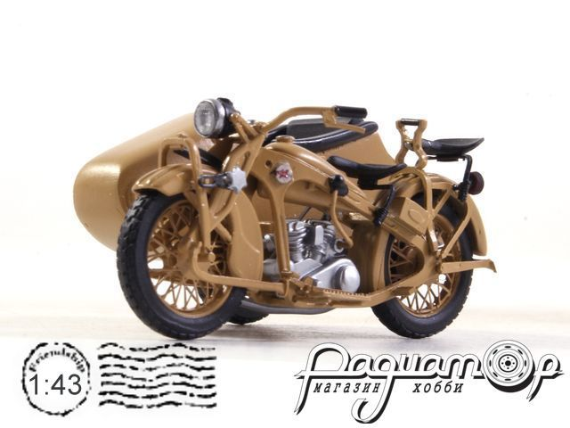 ПМЗ-А-750 с коляской (1934) 191128