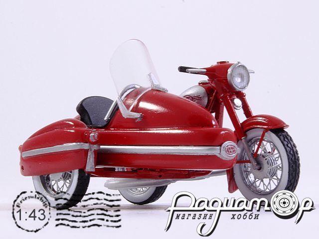 Jawa 350 Kyvacka с коляской (1966) 191129