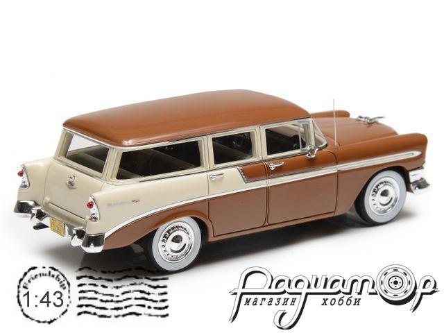Chevrolet Bel Air Beauville 4-Door Station Wagon (1956) EMUS43079D