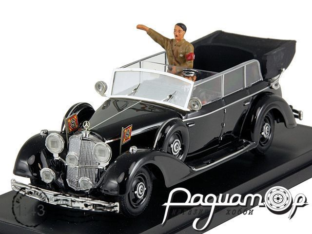 Mercedes-Benz 770K with Hitler (1942) 4064-P