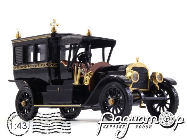 Mercedes-Benz Limousine Carro Funebre Funeral Car (1910) 4383