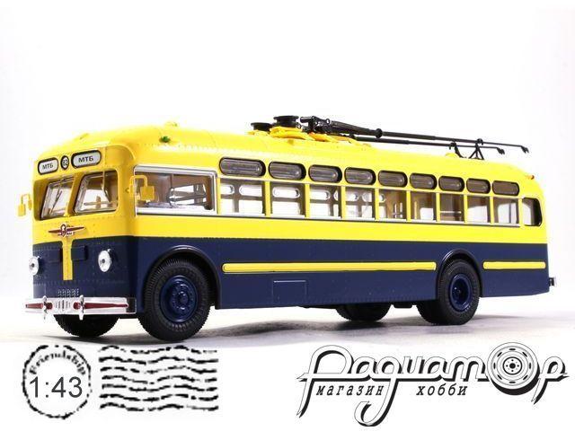 Троллейбус МТБ-82Д городской (ЗиУ) (1951) UM43-A2/2