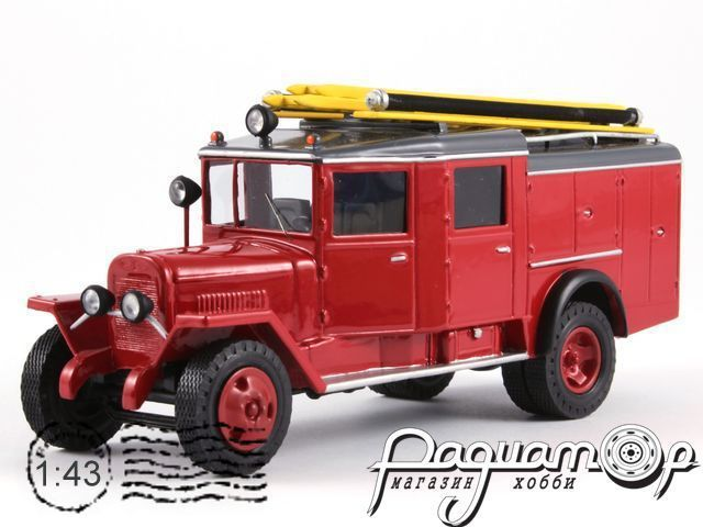 ЗиС-5 ПМЗ-11 пожарный (1933) 6-3