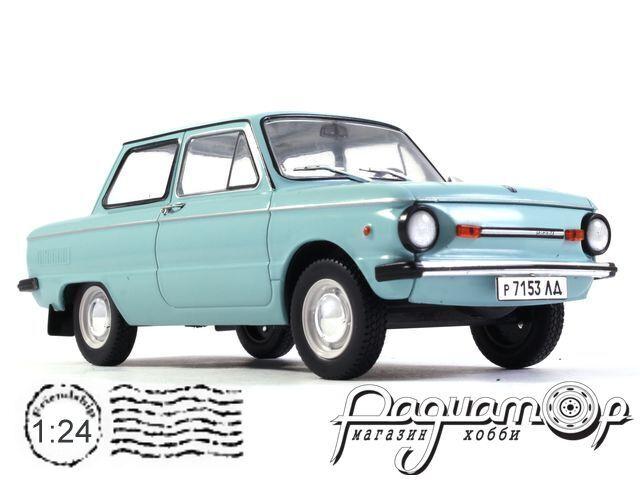Легендарные советские автомобили №52, ЗАЗ-968М «Запорожец» (1973)
